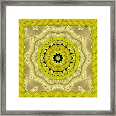 Temple Of Magic Wisdom Framed Print