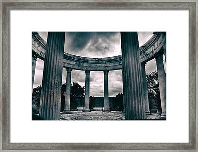 Temple Of The Dawn Sky  Framed Print by Jessica Jenney