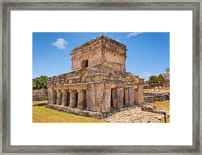 Temple Of The Frescos Framed Print by John M Bailey