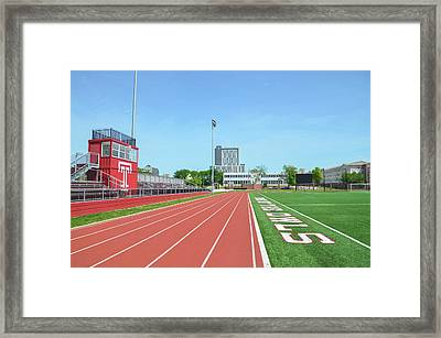 Temple Owls - Dan And Shelley Boyce Track Framed Print by Bill Cannon