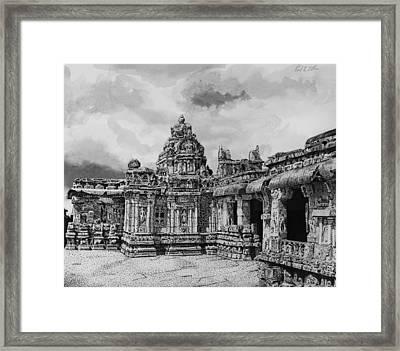 Temple Ruins Framed Print by Paul Illian