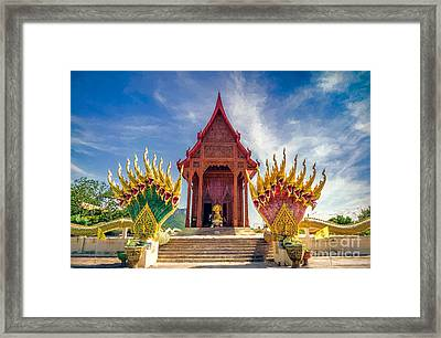 Temple Thailand Framed Print by Adrian Evans