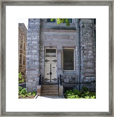 Temple University - The Temple Framed Print by Bill Cannon