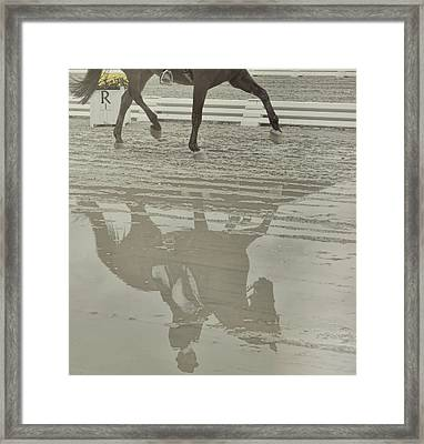 Tempo Reflected Framed Print by JAMART Photography