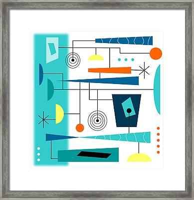 Tempo Framed Print