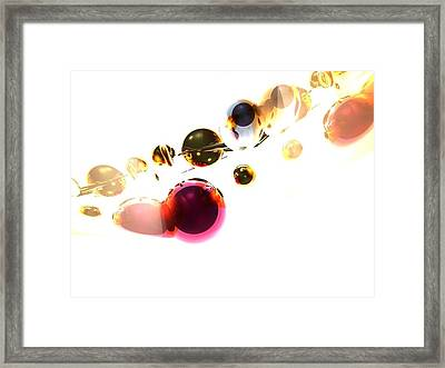 Temporal Inflationary Period Framed Print by Charlie Spear