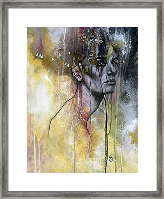 Temporal Framed Print by Patricia Ariel