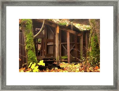 Framed Print featuring the photograph Temporary Shelter by Albert Seger