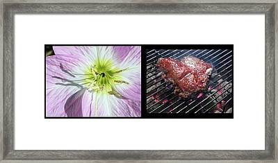 Temptation 1 Framed Print