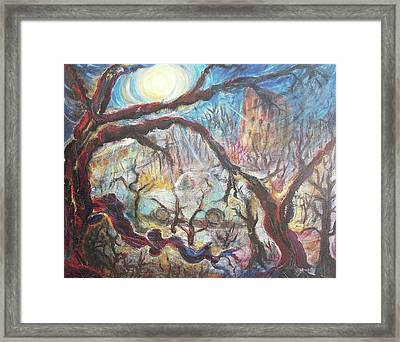Temptation 37 Chevy Framed Print by Suzanne  Marie Leclair