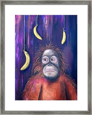 Temptation Framed Print by Leah Saulnier The Painting Maniac