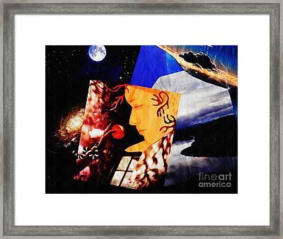 Temptation Of Eve Framed Print