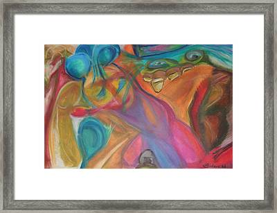 Temptation Framed Print