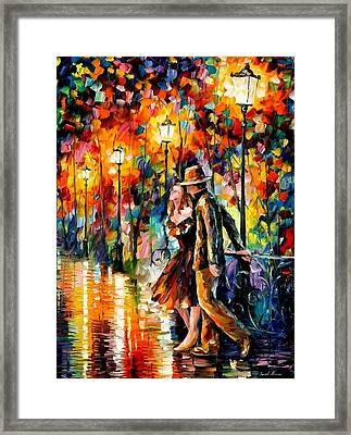 Tempter Framed Print by Leonid Afremov