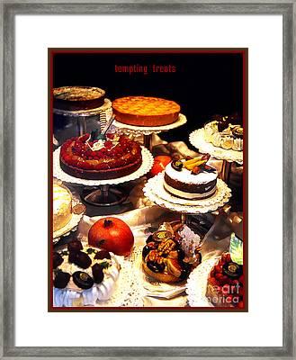 Tempting Treats Framed Print by Linda  Parker