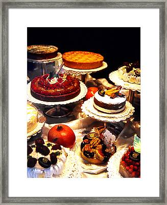 Tempting Treats...untitled Framed Print by Linda  Parker