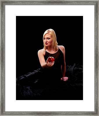 Temptress Framed Print by Don Wolf
