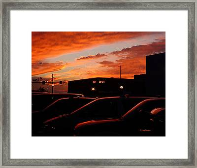Ten Fourteen P.m. Framed Print