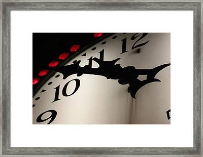 Ten To Framed Print by Lauri Novak