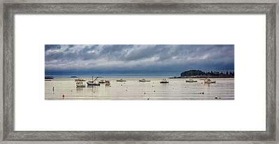 Tenants Harbor Framed Print by Rick Berk