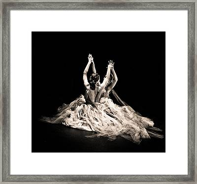 Tender Dance Framed Print