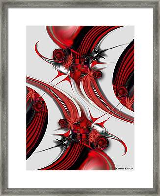 Tender Design - Composition Framed Print