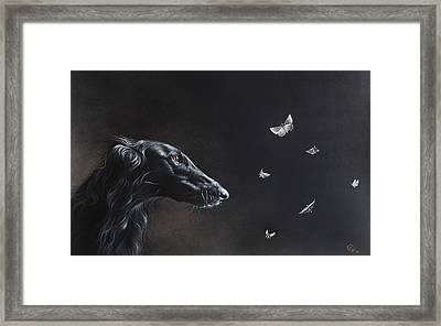 Tender Is The Night Framed Print by Elena Kolotusha