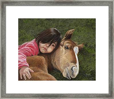 Tender Love Framed Print