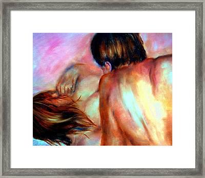 Tender Framed Print by Sandy Ryan