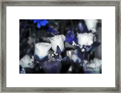 Tender Thoughts Of You Framed Print by Wendy Mogul