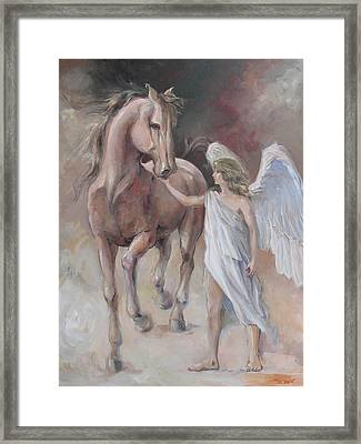 Tenderly Framed Print