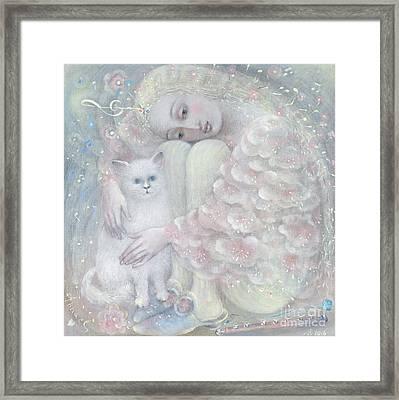 Tenderness Framed Print by Annael Anelia Pavlova