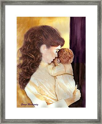 Tenderness Framed Print by George Markiewicz