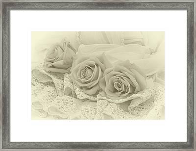 Tenderness Framed Print by Sandra Foster
