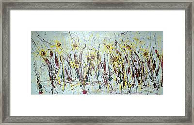 Tending My Garden Framed Print by J R Seymour