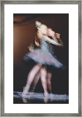 Tendu Back Framed Print