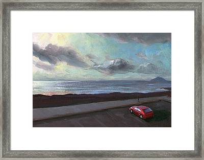 Tenerife Sea And Sky Framed Print