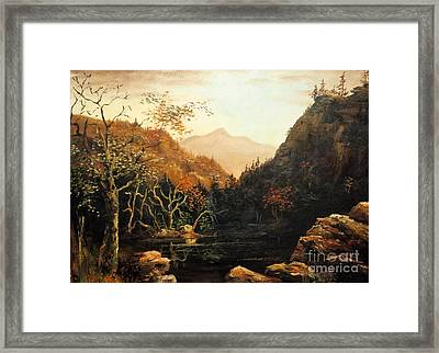 Tennesse River Framed Print by Lee Piper