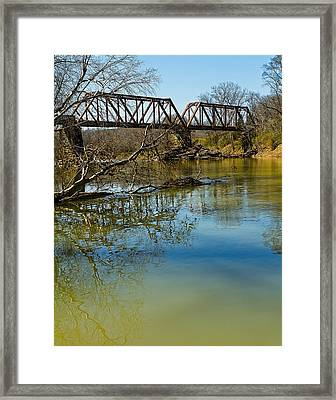 Tennessee Backwater Framed Print