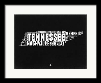 History Of Tennessee Framed Prints