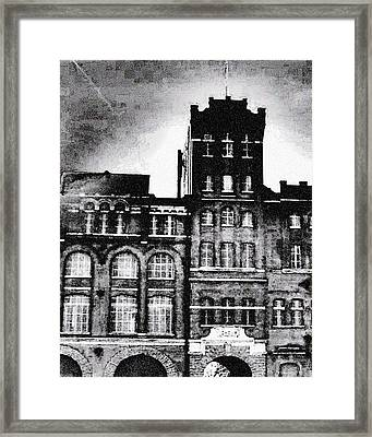 Framed Print featuring the photograph Tennessee Brewery by Lizi Beard-Ward