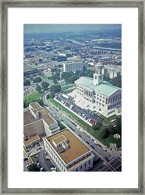 Tennessee Capital Framed Print by Randy Muir