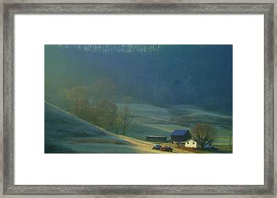 Tennessee Morning.. Framed Print