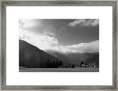 Tennessee Mountains Framed Print by Al  Swasey