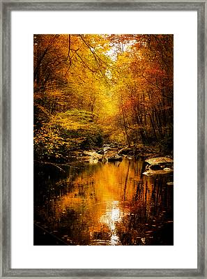 Tennessee Mountains Autumn Framed Print