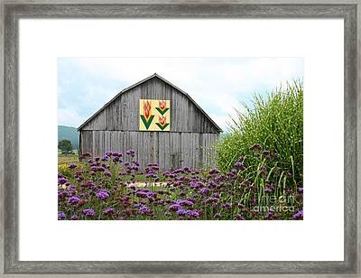 Tennessee Tulip Framed Print by Annlynn Ward