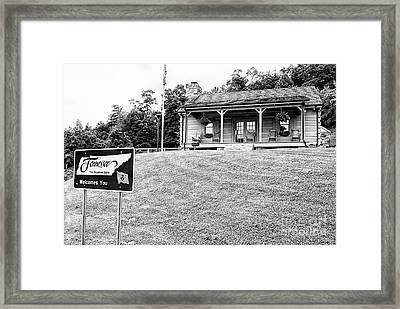 Tennessee Welcomes You Framed Print
