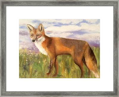 Tennessee Wildlife Red Fox Framed Print