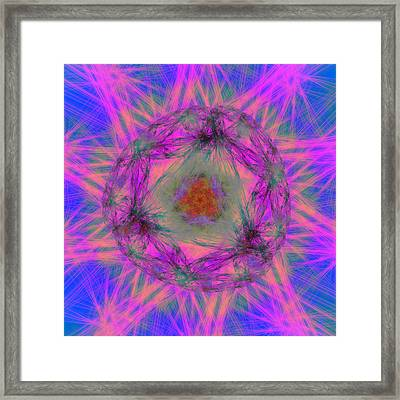 Tenographs Framed Print