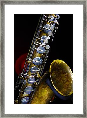 Framed Print featuring the photograph Tenor #1 by Jim Mathis